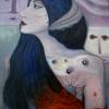 Marion Lucka: Bewußte, Lö, 60 x 80 cm ((2009)