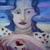 Marion Lucka: Blutleere, 60 x 80 cm (2009)