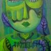 Marion Lucka: Grün, Öl, 50 x 70 cm (2013)