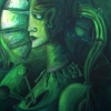 Marion Lucka: Melancholie, Öl, 60 x 80 cm