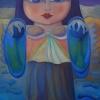 "Marion Lucka: Ölgemälde ""Zauberengel"" 60 x 80 cm (2007)"