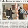Bericht  von S. Meier , Frankenpost über die Ausstellung bei SelbKultur (6. Oktober 2018)