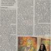 """Artikel """"Nachsommer-Vorherbst"""" vom Künstlerhaus Schirnding von M. Kuhn"""