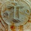 Marion Lucka: Sandsteinrelief (1996)