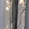 Marion Lucka: Weibliche und männliche Stele (1995)