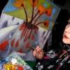 Marion Lucka: Das Stillleben mit Bluttropfen ensteht (2013)