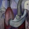 Marion Lucka: Stillleben mit Zitrone, 70 x 90 cm (2007)