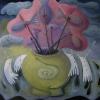 Marion Lucka: Stillleben mit toten Fischen, 60 x 60 cm (2012)