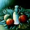 Marion Lucka: Dämonische Stillleben, Öl, 50 x 60 cm (1985))