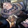 Marion Lucka: November, Öl, 100 x 120 cm (1998)