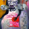Marion Lucka: Trauer, Öl, 60 x 80 cm (2012)