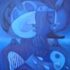 "Marion Lucka: Ölgemälde ""Kühle"" 70 x 100 cm (2006)"