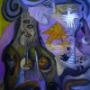 Marion Lucka: Letzte Herbstreise, Öl, 60 x 70 cm (2015)
