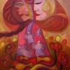 "Marion Lucka: Ölgemälde ""Sonniger Baum"" 60 x 80 cm (2019)"
