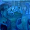 Marion Lucka: Tänzerinnen, Öl, 70 x 100 cm (2006)