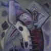 Marion Lucka: Andere Tag im November, Öl, 100 x 110 cm (1998)