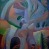 Marion Lucka: Mutter, Öl, 60 x 80 cm (1995)