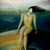 Marion Lucka: Karussell, Öl, 30 x 40 cm ( 1990)