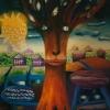 Marion Lucka: Weiser Baum. Öl auf Papier, 40 x 50 cm (1993)