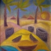 Marion Lucka: Lanzarote2, Öl, 30 x 40 cm (1994)
