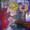 Marion Lucka: Lichtblick, Öl, 60 x 80 cm (2012)