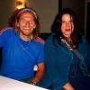 Marion Lucka: Mit Hans Söllner nach einem Konzert auf der Plassenburg (2007)