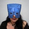 Marion Lucka: Mit Kunstnachtmaske (2016)