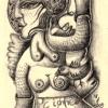 Marion Lucka: Bleistiftzeichnung (2009)