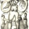 Marion Lucka: Dezember, Bleistift (2009)