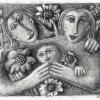 Marion Lucka: Bleistift, Familie (2003)