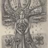 Trauerbaum, Bleistift, 10x 15 cm (2019)