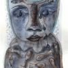 Marion Lucka: Trauerkatze, Tusche/Aquarell, 8 x12 cm (2015)