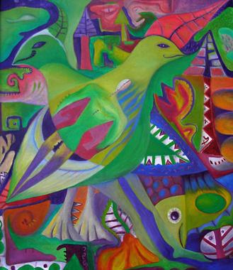 Mexikanische Vögel